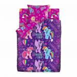КПБ 1.5 хлопок My little Pony Neon (70х70) рис. 16119-1/16120-1 Дружба